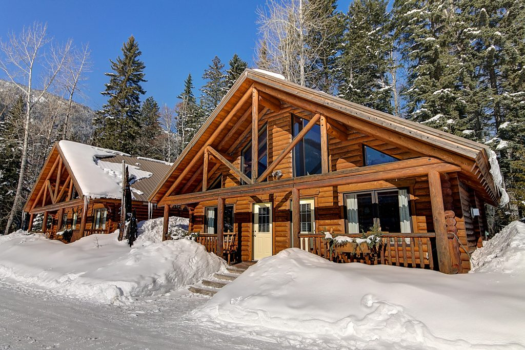 Birch Meadows Lodge Bed and Breakfast Winter